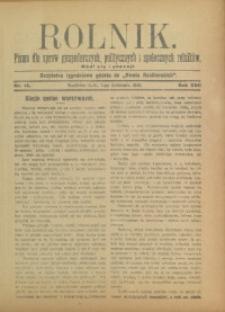 Rolnik, 1910, R. 17, nr 14