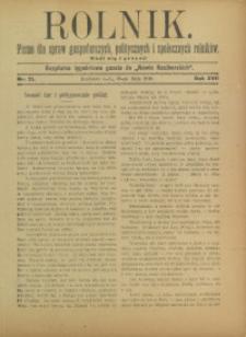 Rolnik, 1910, R. 17, nr 21