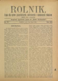 Rolnik, 1910, R. 17, nr 27