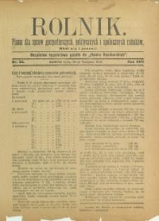 Rolnik, 1910, R. 17, nr 34