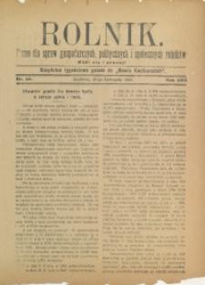 Rolnik, 1910, R. 17, nr 45