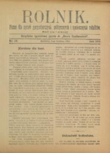 Rolnik, 1910, R. 17, nr 48