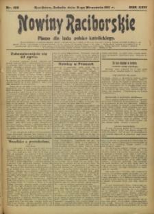 Nowiny Raciborskie, 1911, R. 23, nr 106