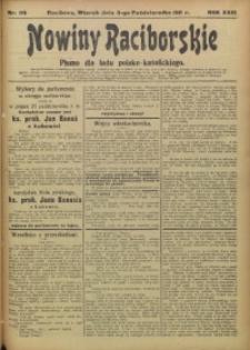 Nowiny Raciborskie, 1911, R. 23, nr 116