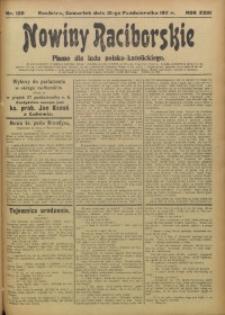 Nowiny Raciborskie, 1911, R. 23, nr 120