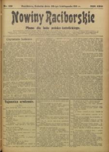 Nowiny Raciborskie, 1911, R. 23, nr 139