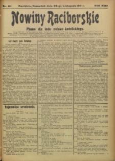 Nowiny Raciborskie, 1911, R. 23, nr 141