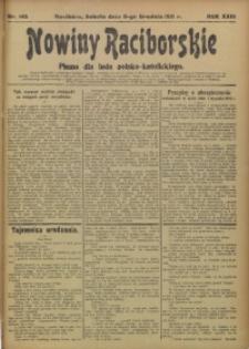Nowiny Raciborskie, 1911, R. 23, nr 145