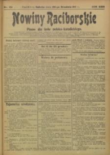 Nowiny Raciborskie, 1911, R. 23, nr 151