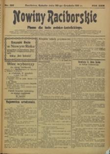 Nowiny Raciborskie, 1911, R. 23, nr 153