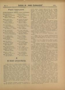 "Dodatek do ""Nowin Raciborskich"", 1911, nr 6"