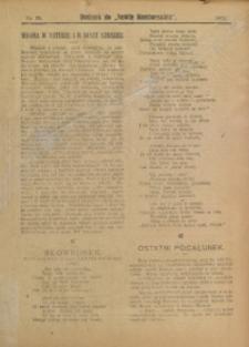 "Dodatek do ""Nowin Raciborskich"", 1911, nr 13"