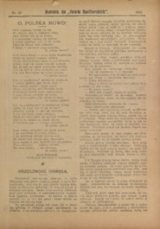"Dodatek do ""Nowin Raciborskich"", 1911, nr 32"