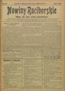 Nowiny Raciborskie, 1912, R. 24, nr 30