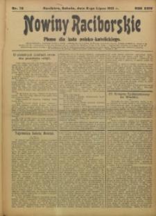 Nowiny Raciborskie, 1912, R. 24, nr 78