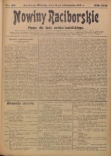 Nowiny Raciborskie, 1912, R. 24, nr 130