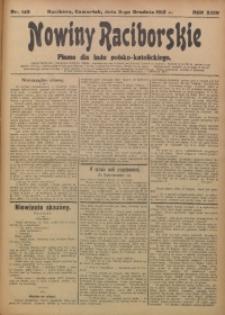 Nowiny Raciborskie, 1912, R. 24, nr 143