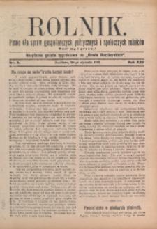 Rolnik, 1913, R. 22, nr 5