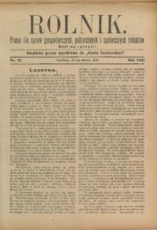 Rolnik, 1913, R. 22, nr 13