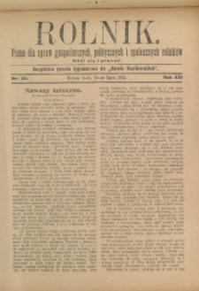 Rolnik, 1913, R. 22, nr 30