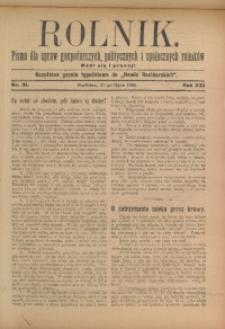 Rolnik, 1913, R. 22, nr 31