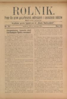 Rolnik, 1913, R. 22, nr 35