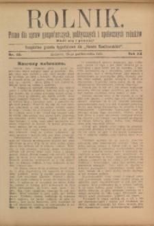 Rolnik, 1913, R. 22, nr 43