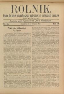 Rolnik, 1913, R. 22, nr 48