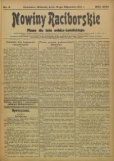 Nowiny Raciborskie, 1914, R. 26, nr 6