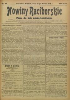 Nowiny Raciborskie, 1914, R. 26, nr 30