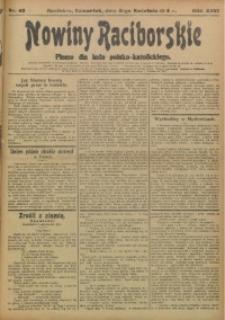 Nowiny Raciborskie, 1914, R. 26, nr 40