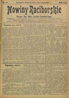 Nowiny Raciborskie, 1914, R. 26, nr 79