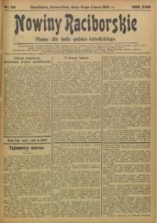 Nowiny Raciborskie, 1914, R. 26, nr 80