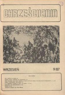 Chrześcijanin, 1987, nr 9