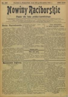 Nowiny Raciborskie, 1914, R. 26, nr 152