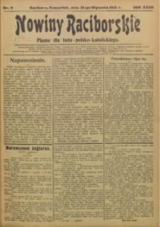 Nowiny Raciborskie, 1915, R. 27, nr 9