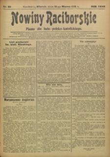 Nowiny Raciborskie, 1915, R. 27, nr 32
