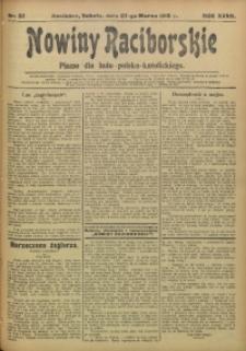 Nowiny Raciborskie, 1915, R. 27, nr 37