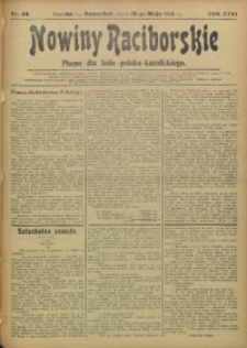 Nowiny Raciborskie, 1915, R. 27, nr 56