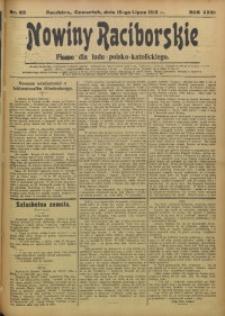 Nowiny Raciborskie, 1915, R. 27, nr 82