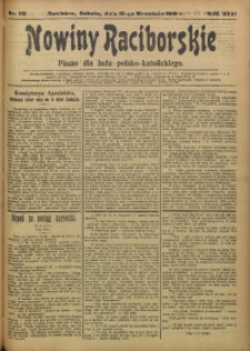 Nowiny Raciborskie, 1915, R. 27, nr 110