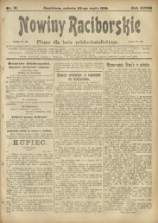 Nowiny Raciborskie, 1916, R. 28, nr 61