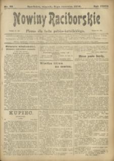 Nowiny Raciborskie, 1916, R. 28, nr 68