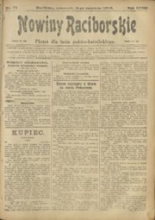 Nowiny Raciborskie, 1916, R. 28, nr 69