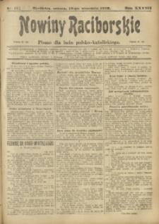 Nowiny Raciborskie, 1916, R. 28, nr 112