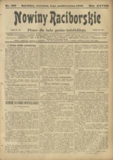 Nowiny Raciborskie, 1916, R. 28, nr 120