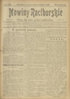 Nowiny Raciborskie, 1916, R. 28, nr 152