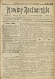 Nowiny Raciborskie, 1917, R. 29, nr 5