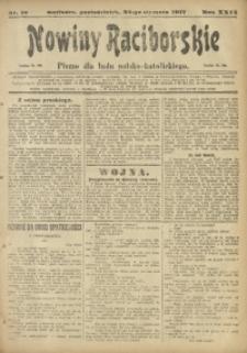 Nowiny Raciborskie, 1917, R. 29, nr 10