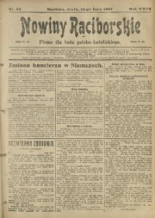 Nowiny Raciborskie, 1917, R. 29, nr 84